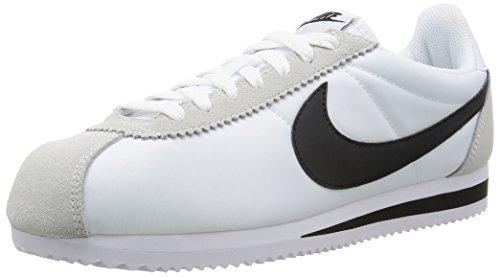 Nike Classic Cortez Nylon, Bottes Classiques homme Blanc