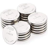 CR2032 3v Lithium Knopfzellen, 20 Stück Li-Mn Knopfbatterien CR 2032 - 3 Volt im 20-er Pack, Batterien einzeln entnehmbar (GP Batteries Markenprodukt)