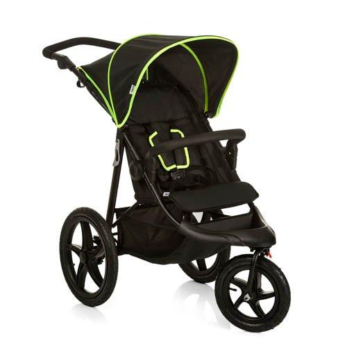 Hauck Runner Passeggino Sportivo Seduta con Posizione 'Riposo', Piegatura Compatta, per Bambini da 6 Mesi fino a 22 kg, Black Neon Yellow (Nero Giallo)