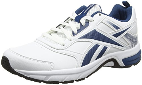 Reebok Pheehan Run 4.0 Sl, Scarpe da Corsa Uomo Bianco (White/Noble Blue/Black)