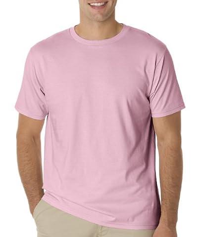 Anvil Herren One-Shoulder T-Shirt XL Rose - Charity Pink