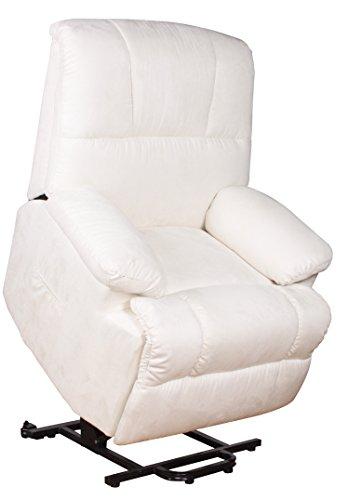 Fernsehsessel mit Aufstehhilfe elektr. 2 motorig Relaxsessel TV Sessel creme