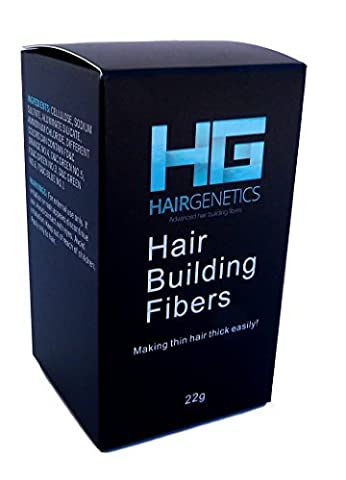 Medium Brown Hair Building Fibers Large 22g Pack Amazing New Concept to Save Money, Fibres For use by Men and Women