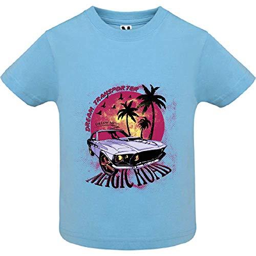 LookMyKase T-Shirt - Magic Road - Bébé Garçon - Bleu - 18mois