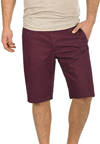 BLEND 20700280ME Herren Chino Shorts Wine Red (73812)