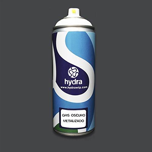 Hydra - Base Fondo vernice spray Grigio Scuro Metallizzato hidroimpresion - 400 ml