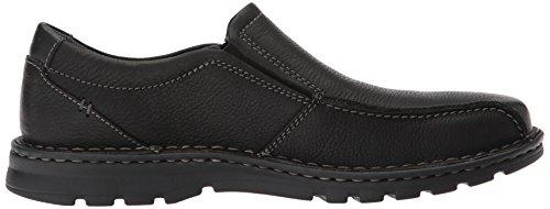 Clarks , Herren Sneaker Black Oily Leather