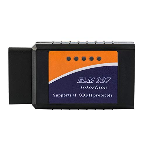 FuriAuto OBD2 OBDII Mini ELM327 V2 1 Interfaz Bluetooth del coche escáner  de diagnóstico coche auto Accesorios