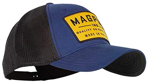 the latest be464 84c52 Magpul Go Bang Mid Crown Snapback Cap Cotton Polyester Dark Blue