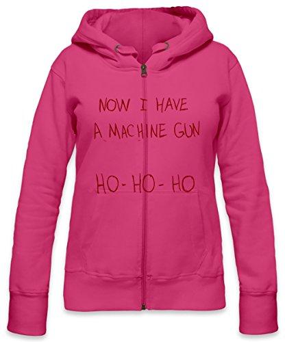 I Have a Mashine Gun Womens Zipper Hoodie X-Large -