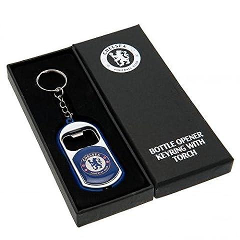 Chelsea FC Offizielle Fußball Geschenk Taschenlampe Schlüsselanhänger Flaschenöffner–A Great Weihnachten/Geburtstag Geschenk Idee für Männer und (Geschenk Ideen Dad Geburtstag)