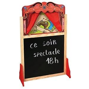 Theatre De Marionnettes En Bois [Jouet]