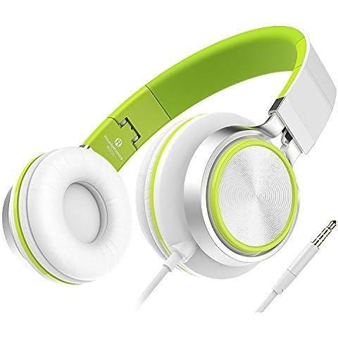 Children Headphones, Sound Intone Auricolari Stereo Forte Bassa cuffie Bass