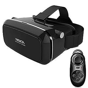 vigica 360 affichage casque r alit virtuelle immersive 3d vr headset google carton lunettes 3d. Black Bedroom Furniture Sets. Home Design Ideas
