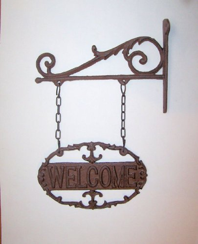 abc-products-heavy-cast-iron-welcome-sign-scroll-work-design-victorian-style-wall-hung-bronze-rustic