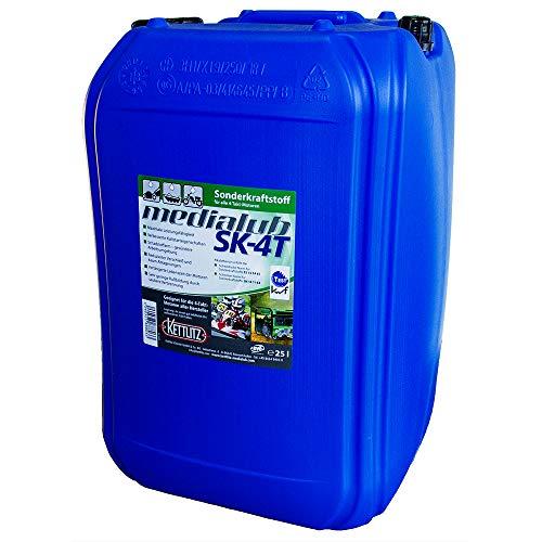 25 Liter KETTLITZ-Medialub SK-4T Alkylatbenzin für 4 Takt,für u.a Rasenmäher usw, KWF Geprüft