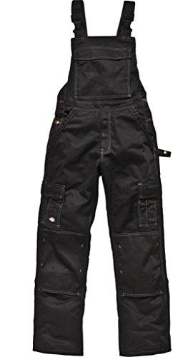 Dickies Latzhose Industry 300 schwarz BK-56, IN30040 (Eisenhower Dickies Arbeitshose)