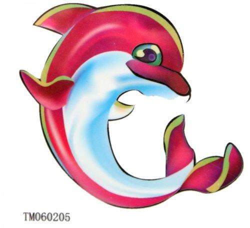 Faux tatouages étanches dauphin Tattoo pour enfants