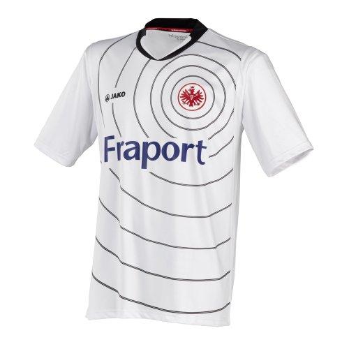 JAKO Eintracht Frankfurt Trikot 11/12 EF4211 XL Weiss-schwarz