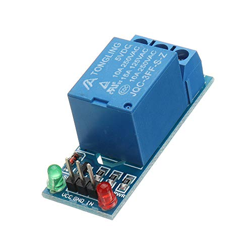ILS - 5V Low-Level-Trigger EIN 1-Kanal-Relais-Modul Interface Board Schild DC AC 220 V Relais-interface-modul