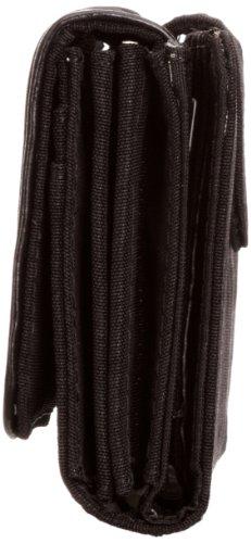 Kipling YELINA ST, Portafoglio donna Nero (Schwarz (Black Dust))