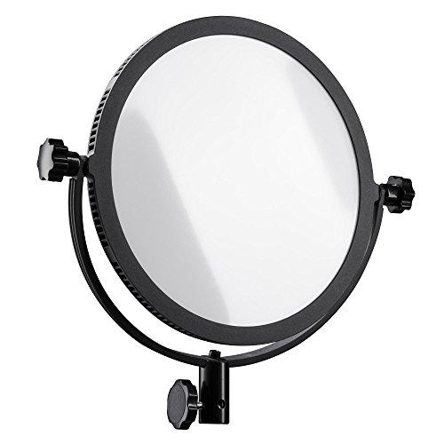 Walimex Pro Soft LED 300 Round Daylight, schwarz