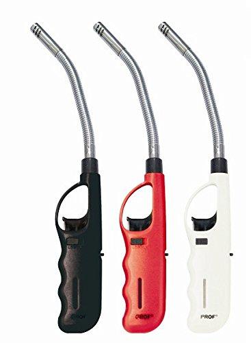 4 x Feuerzeug biegsam flexibel Gas XXL Stabfeuerzeug 27 cm lang nachfüllbar + gratis 1 x Feuerzeug