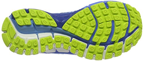 Brooks Damen Adrenaline Gts 17 Gymnastikschuhe Blau (Azure Blue/palace Blue/lime Punch)