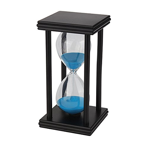 1PC Wooden Sand Timer Sandglass Hourglass Clock 15 Minutes Time Management  For Kids, Class, Games,Gift