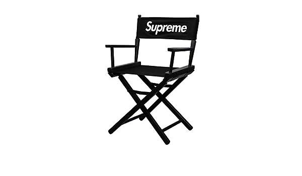 Supreme Sedia da regista SS19, design raro SUPREMENEWYORK