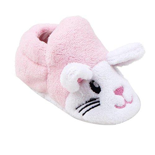 FEITONG Babyschuhe Sneaker Mode Prewalker Soft Sole Kleinkind Schuhe (0 ~ 8 Monat, Blau) Rosa