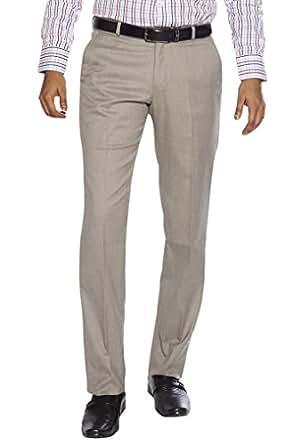 FLAGS Men's Formal Trouser(trouser 001_Fawn_30)