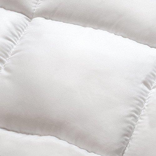comprare on line Lumaland Coprimaterasso in microfibra extra-morbido imbottito Copertura materasso con angoli misura 160x200cm