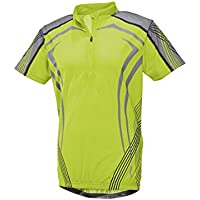 Crivit Sports Cycling Jersey Men s Cycling Jersey Size M 38 40 Green 516120de1