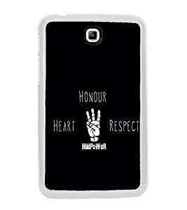 Quote 2D Hard Polycarbonate Designer Back Case Cover for Samsung Galaxy Tab 3 8.0 Wi-Fi T311/T315, Samsung Galaxy Tab 3 8.0 3G, Samsung Galaxy Tab 3 8.0 LTE