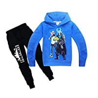 Kids Hooded Sweatshirt Suit 3D Fortnite Hoodie for Boys and Girls