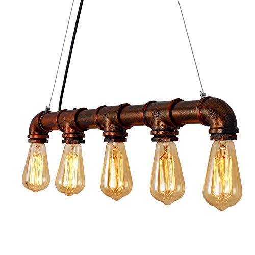 SISVIV E27 Industrie Retro Pendelleuchte Vintage Loft H/ängelampe LED Kronleuchter