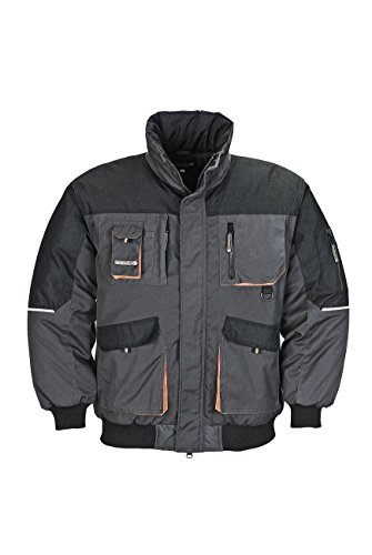 Preisvergleich Produktbild Terratrend Job 4629–2x l-6310Größe 2X Große Herren Pilot Jacke–Dark Grau/Schwarz
