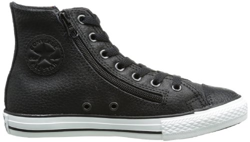 Converse  Chuck Taylor All Star Rock Dz Hi,  Sneaker unisex bambino nero (Black - Black)