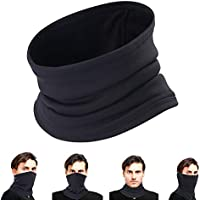 Oscenny Neck/Ear Warmer Ski Scarf Mask Beanie More Thicker Double layer Fleece Ultimate Thermal for Men Women Winter Cold Running Motorcycle, Comfortable Fleece & Microfiber High Stretch