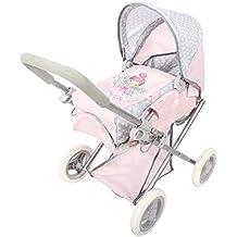 ColorBaby - Cochecito de muñecas plegable 3 en 1 Baby Hadas, color rosa (44920