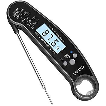 Digital Thermomètre avec aiguille et réveil fonction pour faire frire des aliments pour bébés New