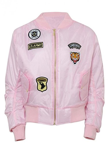 new-ladies-women-badge-ma1-vintage-padded-us-air-force-army-bomber-zip-up-biker-jacket-xs-l-small-ba