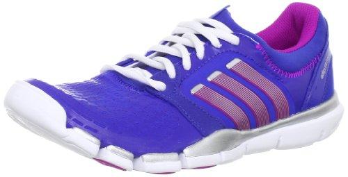 adidas adipure Tr 360 W, Chaussures de running femme Bleu - Blau (Cobalt / Vivid Pink S13 / Metallic Silver)