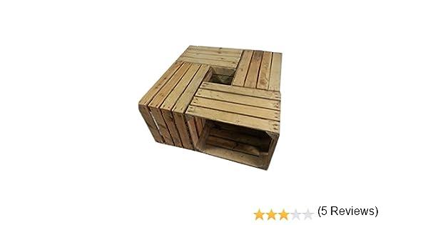 Come riciclare le cassette della frutta in legno ecocentrica