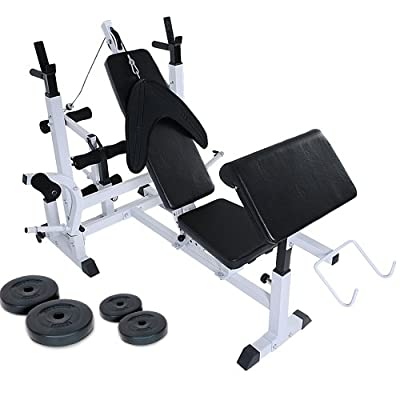 Physionics Multifunctional Weight Bench Fitness Station by Physionics®