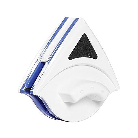Baffect® Startseite Double Side Magnetic Window Cleaner Ultra Strong Beide Seiten-Glaswischer Werkzeuge Oberflächenreinigungsbürste mit ergonomischem Griff-Design für Hoch und Autoverglasung Stärke 3-8mm