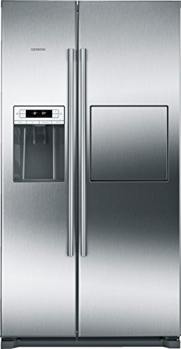Siemens KA90GAI20 iQ500 Side-by-Side / A+ / 177 cm Höhe / 432 kWh / 359 Liter Kühlteil / 163 Liter Gefrierteil / Grau / no-Frost-Technik gegen Eis- und Reifbildung