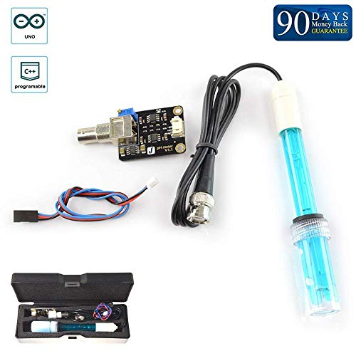 Analog pH Sensor / Meter Kit For Arduino/Use It For Your Aquaponics Or Fish Tanks Or Other Materials That Need Measurements