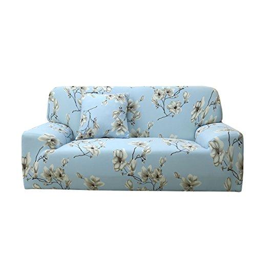"""Sourcingmap - Copri-divano per 1,2,3,4posti. Tessuto elastico in poliestere e spandex. Morbido, si adatta perfettamente alla forma del divano, #1, Sofa-3seater 76"""" x 90"""""""